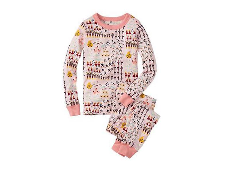 Pijama Orgánico Aves Niña 2 Piezas • Moonwear 674b4645eff6