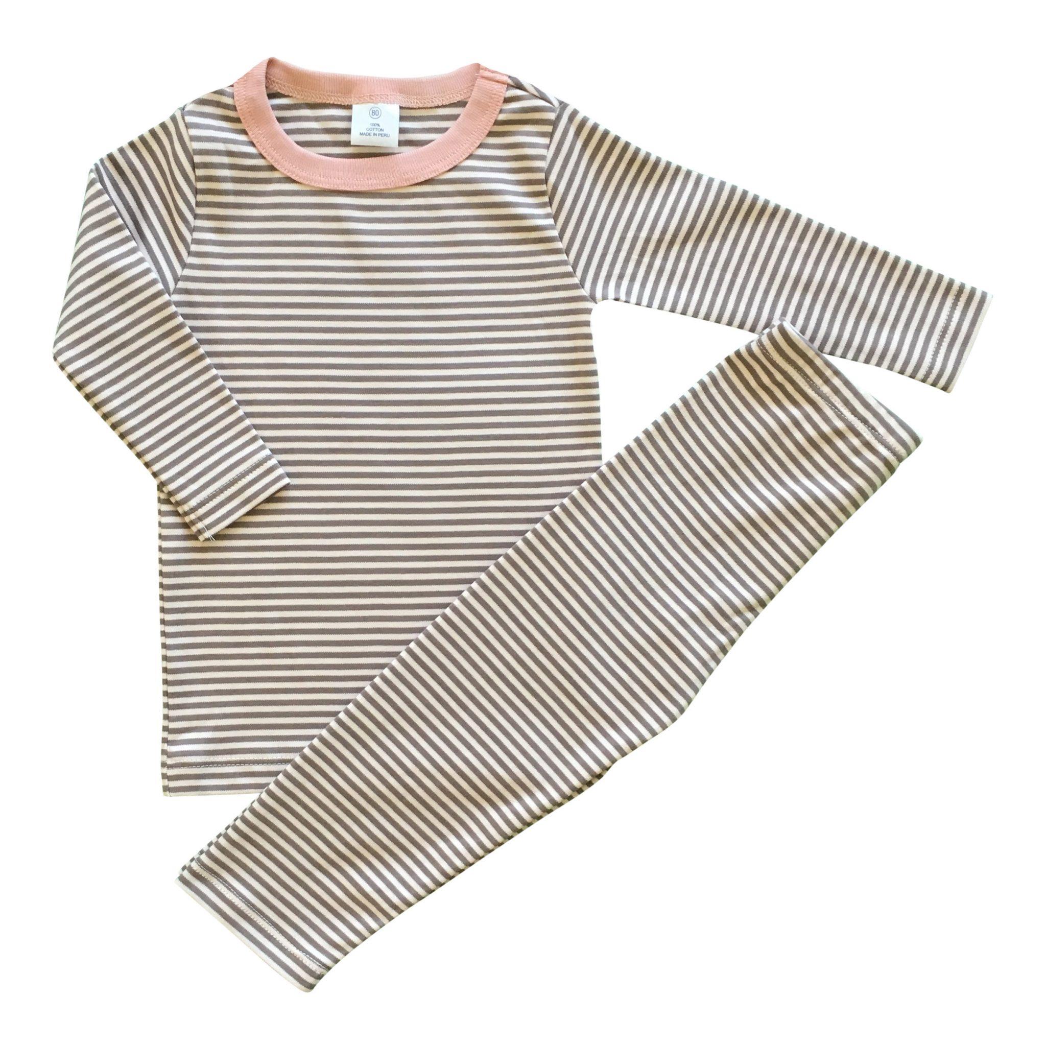 Pijama Listado 2 Piezas Pima Orgánico • Moonwear 1fe2f5be7f4c