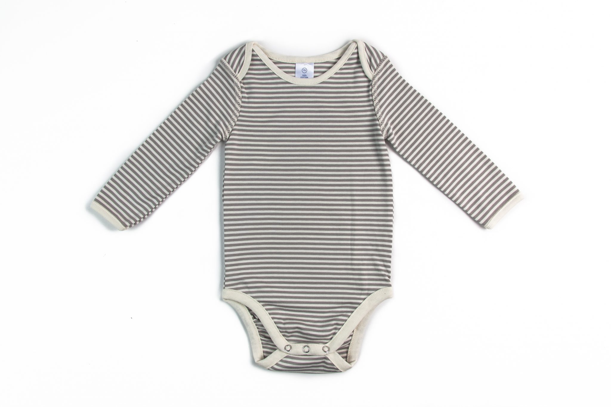 Body Listado Pima Orgánico Blanco • Moonwear 88e372f908ee