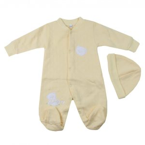 ENTERITO BORDADO BEAR UNISEX