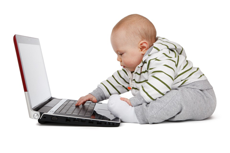 Baby in Computer